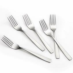 Hiware 12-piece Dinner Forks Set, 8 Inches, Extra-Fine 18/8