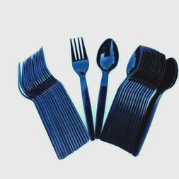 15 Pairs Spoons Forks Plastic Disposable Cutlery Quality Par