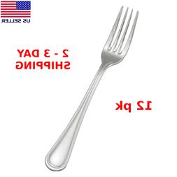 18/0 Dinner Forks Fork Set L Heavy Duty Stainless Steel Dinn