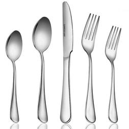 20 pcs stainless steel flatware set service