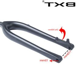 29er Plus Boost Carbon Fork Tapered fork 110*15mm Bicycle Fo