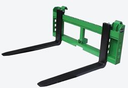 42 Pallet Fork Attachment with 2 Trailer Receiver Hitch fits