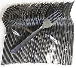 Biodegradable / Compostable Heavyweight Disposable Forks - 1