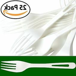 Biodegradable Forks Made From Non-GMO Plant-Based Plastic 50