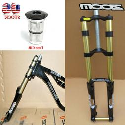 "ZOOM Downhill DH680 Ssupension Fork 170mm 26"" Thru Axle 20mm"