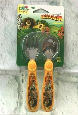 The First Years Dreamworks Madagascar Infant Spoon and Fork