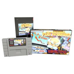 Fork Parker's Crunch Out Game for the Super Nintendo Console