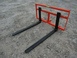 """Kubota BX Sub Compact Tractor 42"""" Pallet Fork Attachment 2,2"""