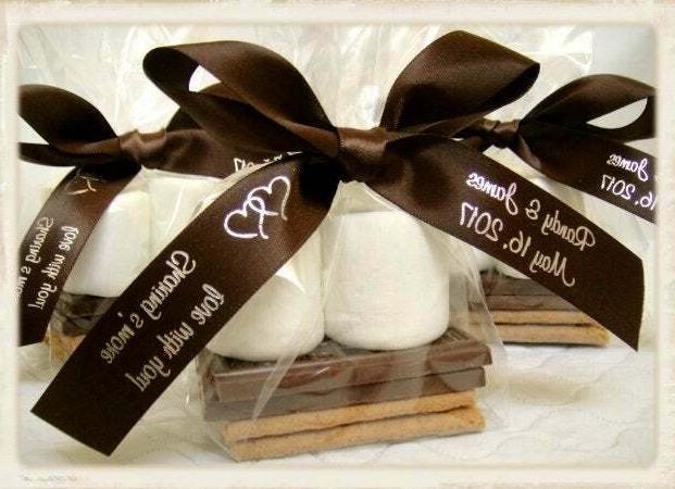 100 smores party favor bags for weddings