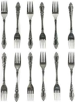 12 Duty Stainless Forks Set