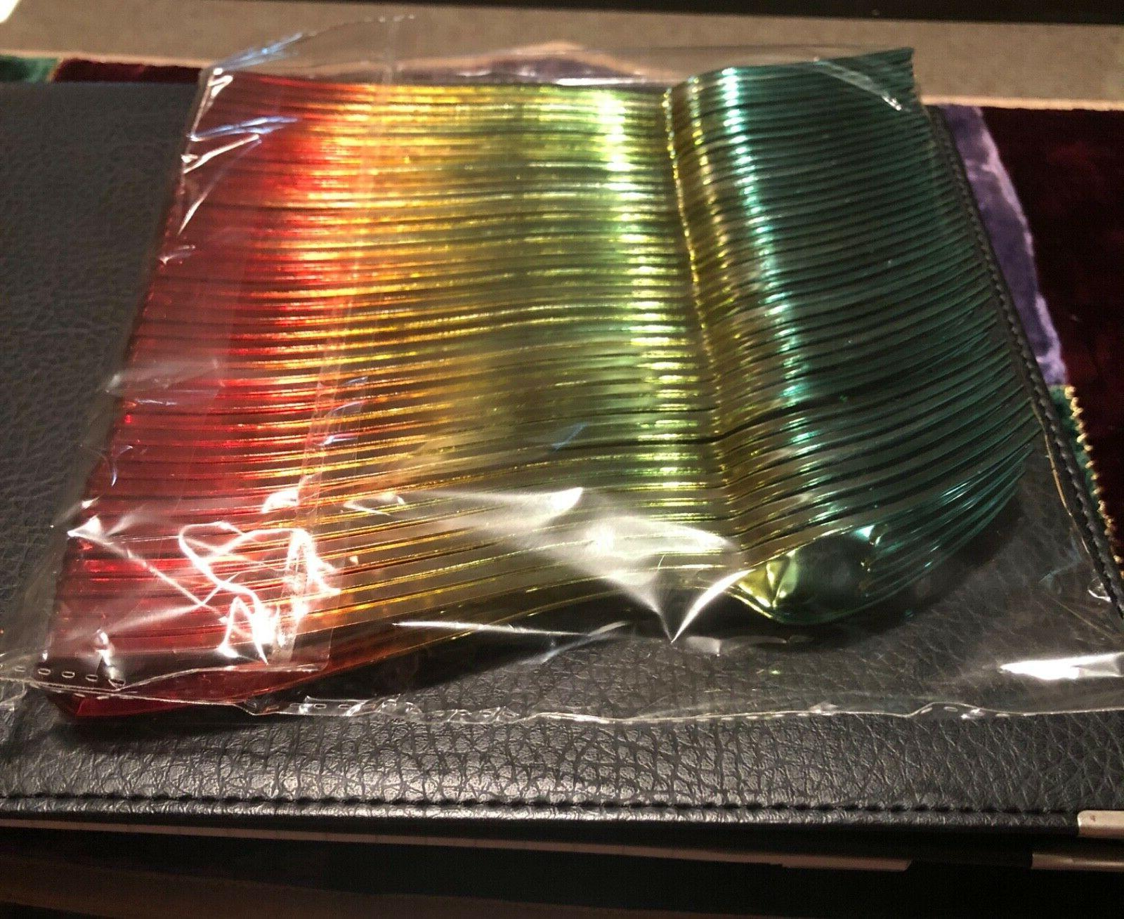 40 NEW AWESOME RAINBOW FORKS Disposable utensils