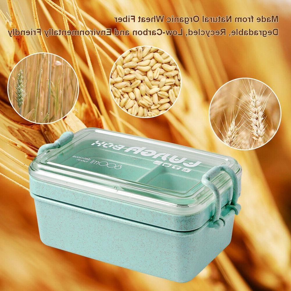 2 Layers Lunch Box Container