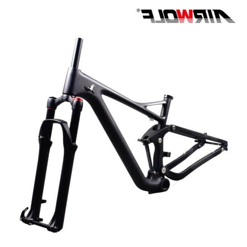 2019 suspension mountain bike frame and fork