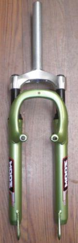 "ZOOM 26"" MOUNTAIN GREEN SUSPENSION FORK BIKE PARTS 619"