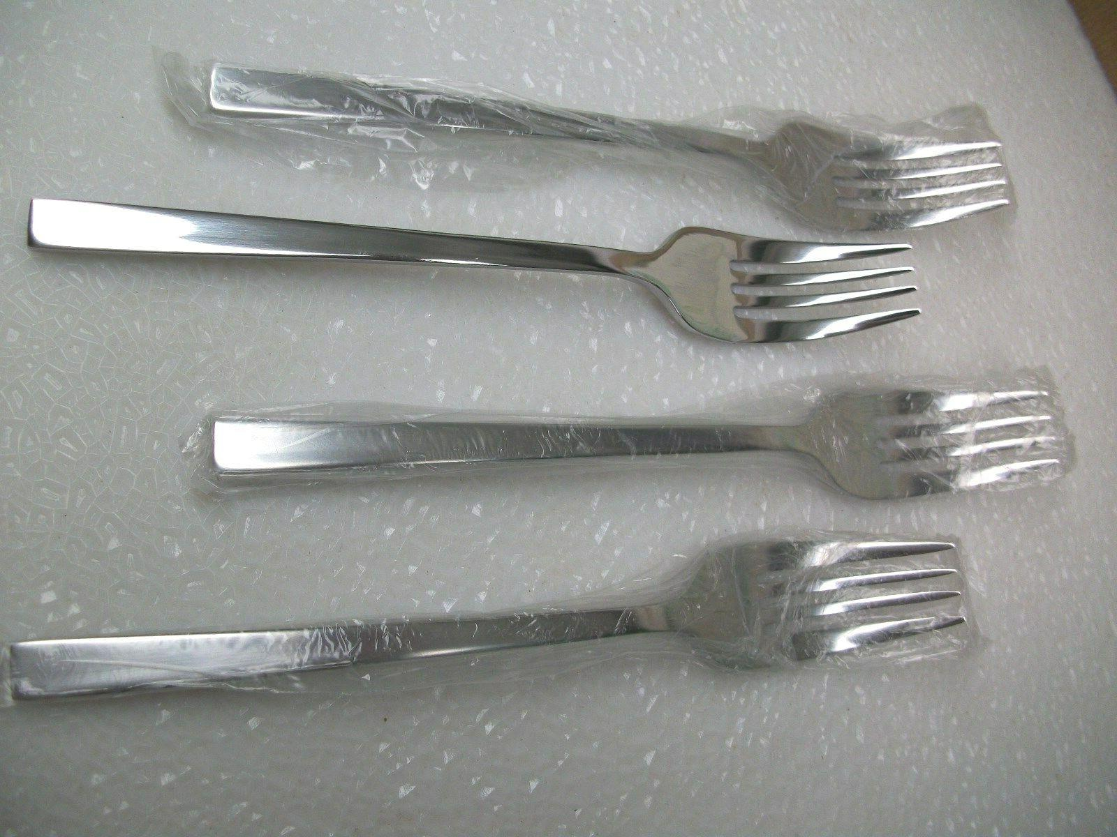 4 Silver Stainless Salad New SHIPPING