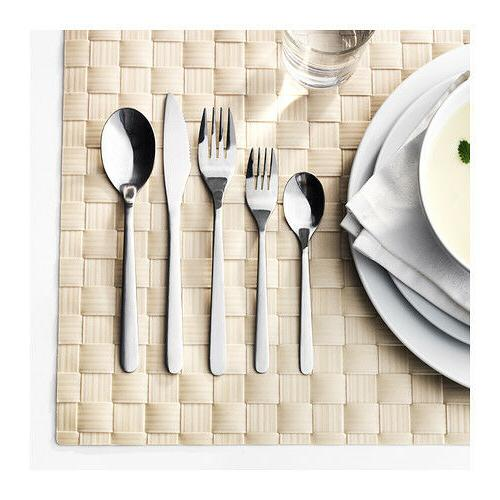 fornuft 20 pc stainless cutlery flatware set