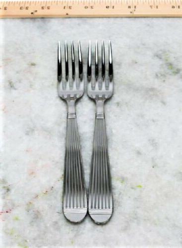 pack of 2 esso stainless forks 8