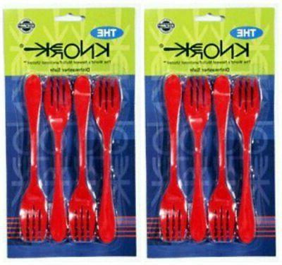 the 2 pack 8 forks total