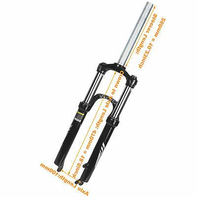 ZOOM VAXA Mountain Bicycle Suspension Fork 9mm QR