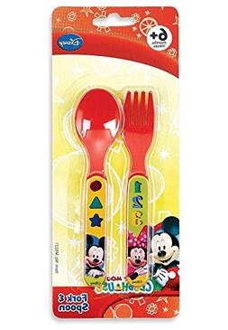 Disney Mickey Mouse Clubhouse Fork & Spoon Set