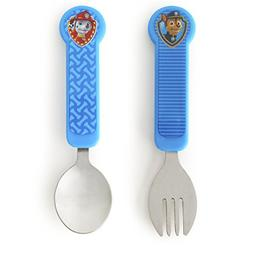 New Munchkin Paw Patrol Toddler Fork and Spoon - Blue Model: