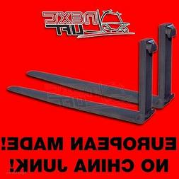 """NEW CLASS II 2 96"""" FORKS 1-3/4 X 5 X 96 CL2 PAIR 8FT SET FOR"""