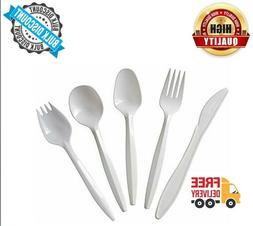 Plastic Cutlery Disposable Plastic Cutlery Spoons Knives For