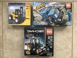 LEGO Racers Side Rider 55 8668 Technic Mini Tractor 8281 For