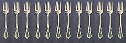 Oneida Silverplate Flatware CROYDON Serving Forks CANADA - S