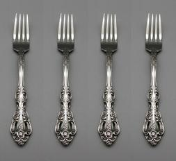Oneida Stainless Michelangelo Dinner Forks - Set of Four USA