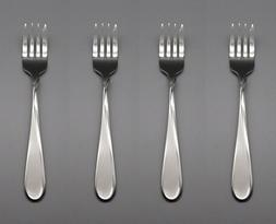 Oneida Stainless Satin Flight Salad Forks - Set of Four New