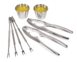 Oggi 8-Piece Stainless Steel Seafood Set