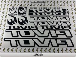 PIVOT Stickers Decals  Bicycles Bikes Cycles Frames Forks Mo