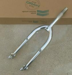 "HARO VINTAGE SERIES 1989 FORK 20"" CHROME 1"" THREADED OLD SCH"