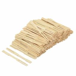 Wholesale 20 x 50pcs Bamboo Disposable Party Home Fruit Fork