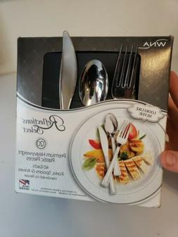 WNA 120 Pc. Reflections select plastic forks spoons and kniv